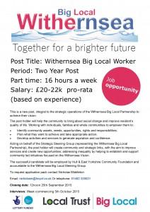 WBL Job advert 24.8.15