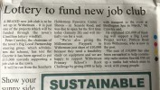 Big Local fund new job club and more updates…